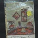 Gingham Goose Full Size Pattern Oak / Acorn Kitchen Kollection - 1980 Vintage