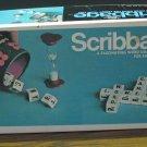 Scribbage Crossword Letter Dice Game - E.S. Lowe - 1968 Vintage