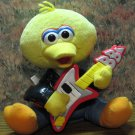 Sesame Street Rock and Roll Big Bird Singing Doll NOT ANIMATRONIC - 1999 Vintage