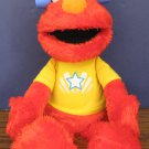 "Sesame Street Elmo Let's Imagine Talking Doll with Pirate Hat - 14"" Hasbro 2013"