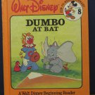 Disney Beginning Reader 08 Dumbo at Bat - Bantam 1986 Vintage