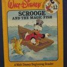 Disney Beginning Reader 12 Scrooge and the Magic Fish - Bantam 1986 Vintage