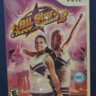 Nintendo Wii All Star Cheer Squad 2 Cheer Leading Game - 2009