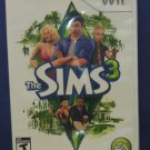 Nintendo Wii Sims 3 People Simulator - Electronic Arts - 2009