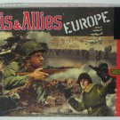 Axis and Allies Europe WWII Strategy Board Game Hasbro / Avalon Hill 1999