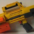 Nerf N-Strike Deploy Soft Dart Gun Blaster - Yellow with 6 Round Magazine