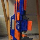 Nerf N-Strike Rapidstrike CS-18 Full Auto Soft Dart Gun w 6 Round Magazine Recon Barrel
