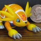"Digimon Armadillomon Digi-Action 4"" Rolling Figure Toy - Bandai - 2000 Vintage"