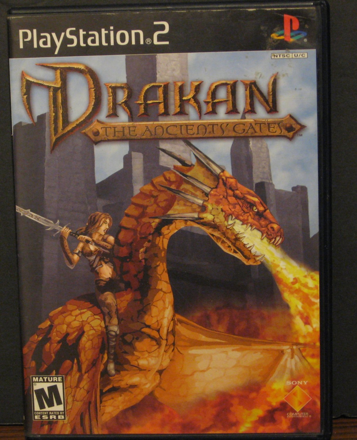 Sony Playstation 2 Drakan Ancient Gates - Action Adventure Game - PS2 - 2002