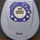 RCA RP-2300C Personal Portable Programmable CD Player with Bass Boost - 2000 Vintage