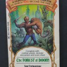 Fighting Fantasy 03 Forest of Doom Steve Jackson Games Solo RPG Adventure 1984 Vintage