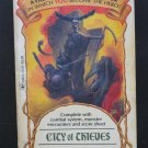 Fighting Fantasy 05 City of Thieves Steve Jackson Games Solo RPG Adventure 1984 Vintage