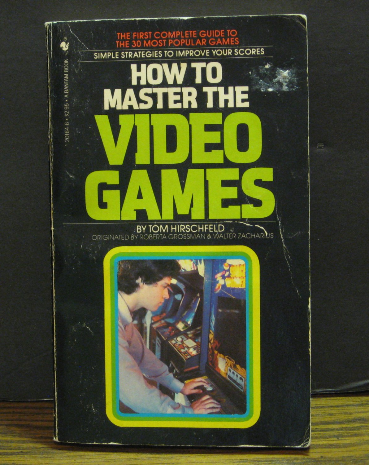 How to Master the Video Games - 30 Game Arcade Strategy Guide - 1981 Vintage