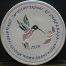 Stoneware Collector Coaster - Soroptimist International of Camelback - 1995 Vintage