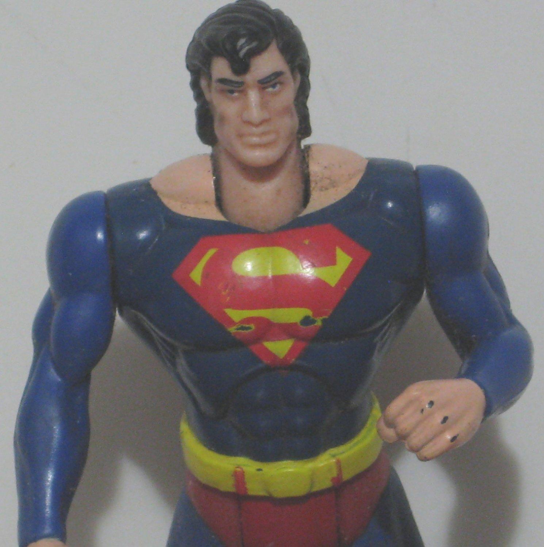 """DC Comics Superman Power Flight 5"""" Action Figure Kenner - No Cape - 1995 Vintage"""