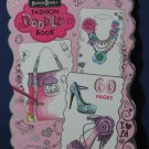 """Fashion Angels Design Doodle Book - 60 Pages - Spiral Bound - 10"""" x 6 1/2"""""""