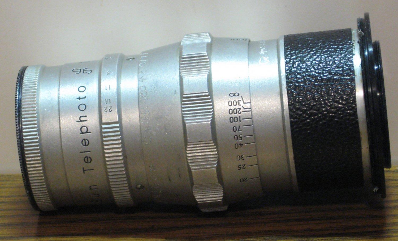 Vivitar Sun 35mm Camera Telephoto Lens #30374 1:3.8