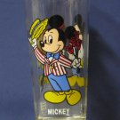 Disney Mickey and Minnie Mouse Pepsi Series Collector Glass 1978 Vintage