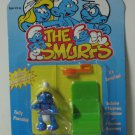 Smurfs Minimates Smurfette Figure - New on Card - 1996 - Toy Island - MoC