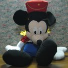 "Disney Mickey Mouse Giant 30"" Plush Nutcracker - Christmas Holiday - 2002 Vintage"