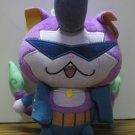 "Yokai Watch Baddinyan Purple 7"" Plush Doll B8797/B5949 2015 Hasbro"