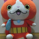 "Yokai Watch Jibanyan Orange 7"" Plush Doll B5950/B5949 2015 Hasbro"