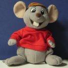 "Disney Bernard Rescuers Beanbag Plush Mouse - 7"""
