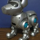 Tekno the Robotic Puppy - Older Version - Silver - ToyQuest - No Sound
