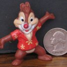 Disney Afternoon Chip and Dale Rescue Rangers Dale Chipmunk Kellogg PVC Figure