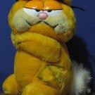 "Garfield 8"" Plush Cat with Bunny Rabbit Tail - Dakin - 1981 Vintage"