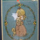 Precious Moments Love Is Kind Frame Tray Puzzle - 1992 Vintage - Golden - New