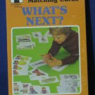 Rainbow Works Preschool Matching Cards What's Next? 75842-3 1982 Vintage New