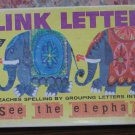 Link Letters Educational Spelling Tiles Game - 1963 Vintage - Milton Bradley