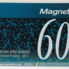 Audio Cassette Tape - Magnetics High Speed Dubbing 60x - 60 Minutes