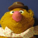 """Muppets Muppet Show Fozzie Bear 14"""" Plush - Fisher Price - 1976 Vintage"""