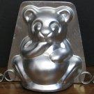 "Wilton Enterprises 2 Piece Panda Bear 3D Cake Mold 518-489 5"" - 1980s Vintage"