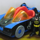 Fisher Price Imaginext Superfriends Light Up Batmobile with Dark Knight Batman