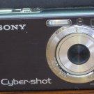 Sony Cybershot 7.2MP Digital Camera DSC-W80 - Black