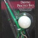 Fred Meyer Challenge Golf Products Driving Practice Ball - New on Card - 1996 Vintage
