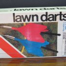 "Sportcraft Lawn Darts - The ""Naughty to Own"" Metal Style - 1981 Vintage"