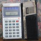 Sharp Elsi Mate EL-326 Pocket 7 Function Solar Calculator - 1985 Vintage