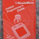 Computer Book - Atari KoalaPad KoalaWare Instant Programmer's Guide - 1983 Vintage