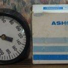 "Ashcroft Pressure Gauge 2 1/2"" #1000 Lower 1/4NPT 200 psi - Unused - 1980s Vintage"