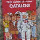 Atari Video Computer Systems Game Cartridge Catalog - VCS / 2600 / 1978 Vintage