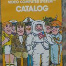 Atari Video Computer Systems Game Cartridge Catalog - VCS / 2600 / 1979 Vintage