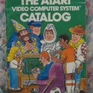 Atari Video Computer Systems Game Cartridge Catalog - VCS / 2600 / 1981 Vintage
