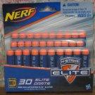 Nerf N-Strike Elite Blue Darts - 30 Dart Refill Pack - Elite / Elite Deco - 2014