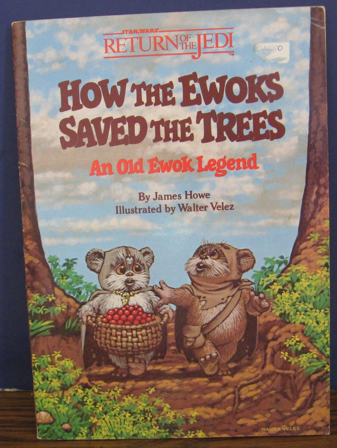 Star Wars Return of the Jedi How the Ewoks Saved the Trees - Random House - 1984 Vintage