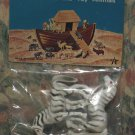 """Arco Noah's Ark Animals - Zebras - 2"""" Tall - New in Package - 1972 Vintage"""