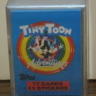Tiny Toon Adventures Trading Card Set - 77 Cards / 11 Stickers - Topps - 1991 Vintage
